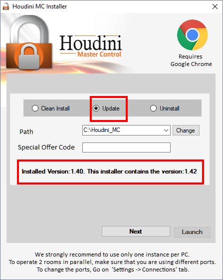 FAQ | Houdini Master Control